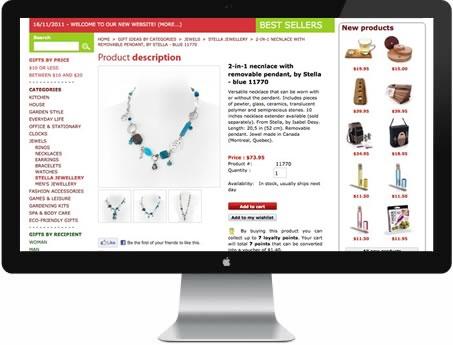 frontpage tienda online estepona gausswebapp