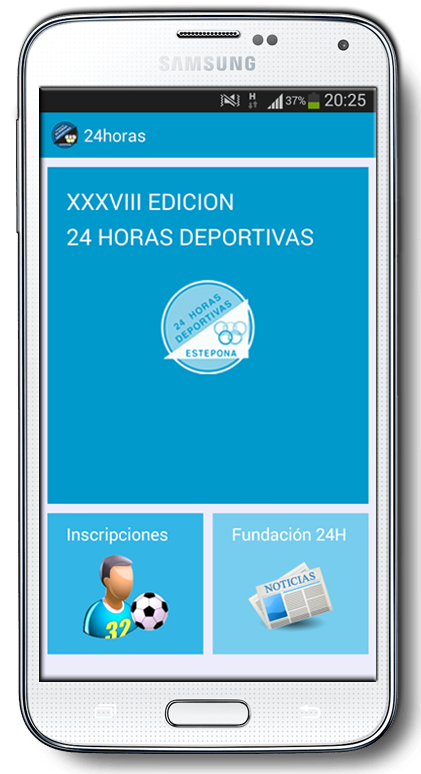 Android Phone aplicaciones moviles estepona gausswebapp